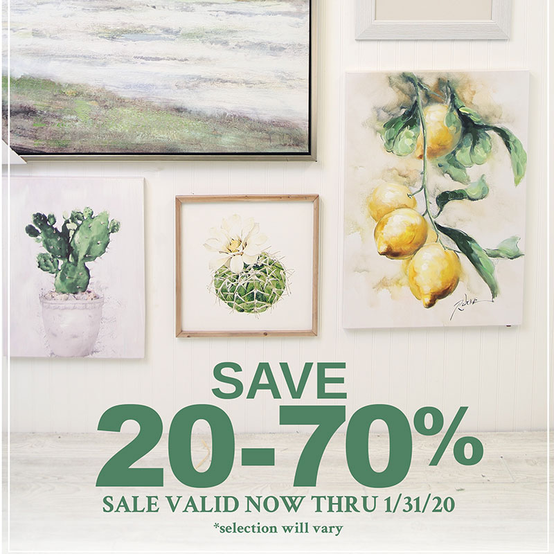 JA Wall Art Sale
