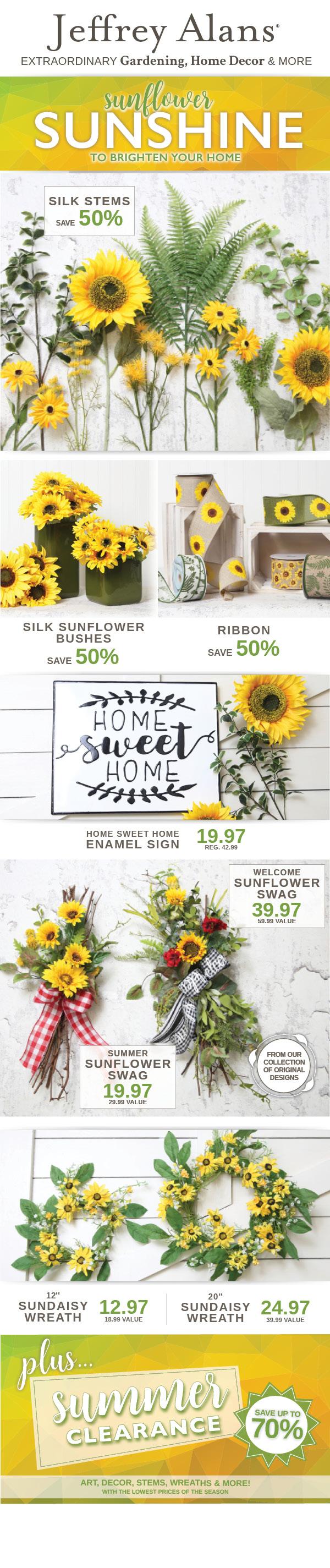 JA Sunflower Sunshine • July 9-24